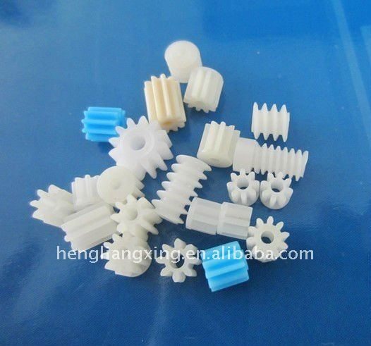small module plastic gear and worm for motor