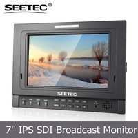 Small 7 inch 5d mark 2 monitor with 1280*800 ips panel 400cd brightness sunlight visual for photography movie making