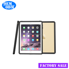 Factory sale 360 Degree Full Cover Silicone case for ipad pro 9.7'' Waterproof Shockproof Dropproof Dustproof case for ipad pro