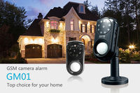 Jimi GSM Alarm Camera with Wireless Home Security System 3G