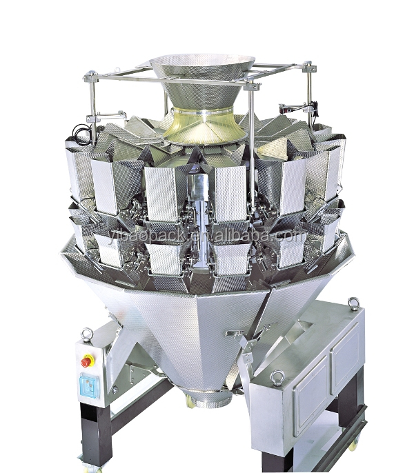 High Accuracy 14 heads multihead weigher