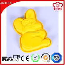 The Easter Bunny Rabbit Silicone Cake Mold Rabbit Shape Cartoon Silicone Cake Mold