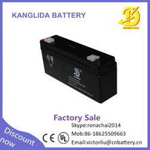 Hot sale 6v 3.3ah UPS dry rechargeable battery for kid cars