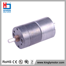 CE Long Life Low Noise 4mm Shaft 25mm DC 6v/12V 120rpm Geared Motor