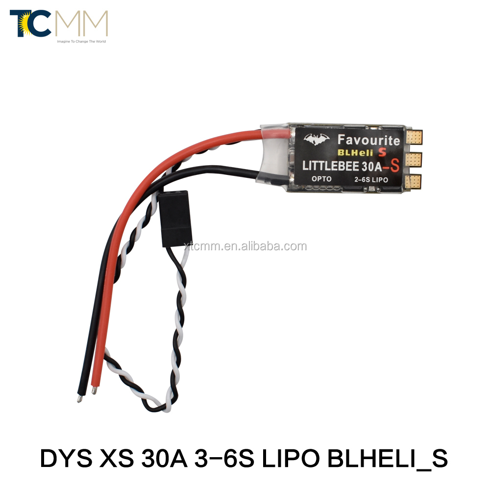 DYS XS 30A 3-6s Lipo BLheli_S ESC Support Oneshot125 Oneshot42 Multishot For Racing High KV Motor Multicopter Quadcopter