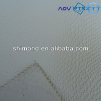 2015 New White Crocodile Pattern PVC Leather