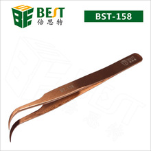 High Quality Tweezer Black Color Coated Tweezers Best Supplier BST-158