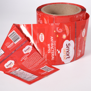 Bottle use custom heat PVC shrink sleeve label film in roll