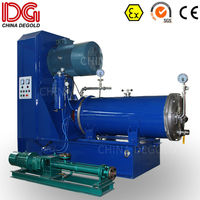 DEGOLD 200L inverter mold steel grinding cylinder&disk Ex proof nano double mechanical seal wet horizontal sand mill