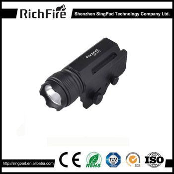 Wholesales Aluminum Alloy LED Tactical Gun Flashlight 3-Mode 300LM Pistol Handgun Torch Light Lamp Taschenlampe