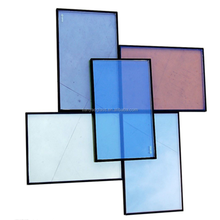 Hot sell vacuum glass 6+12a+6mm low-e insulated glass for window and door building