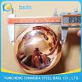 80 90 100 127 150 200 300 400 500mm Copper Sphere