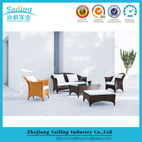High Quality Outdoor Wicker Muebles De Jardin