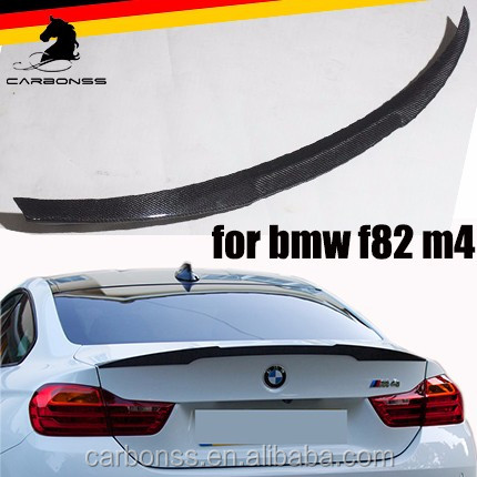 2013-2017 CARBON FIBER REAR SPOILER FOR BMW M SERIES M4 F82