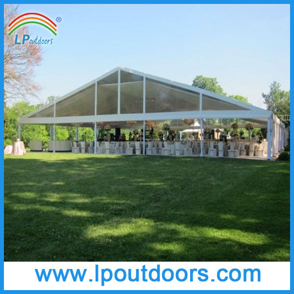 25m clear roof event marquee party tent