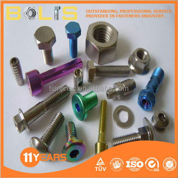 Gr8.8 decorative different types nuts bolts