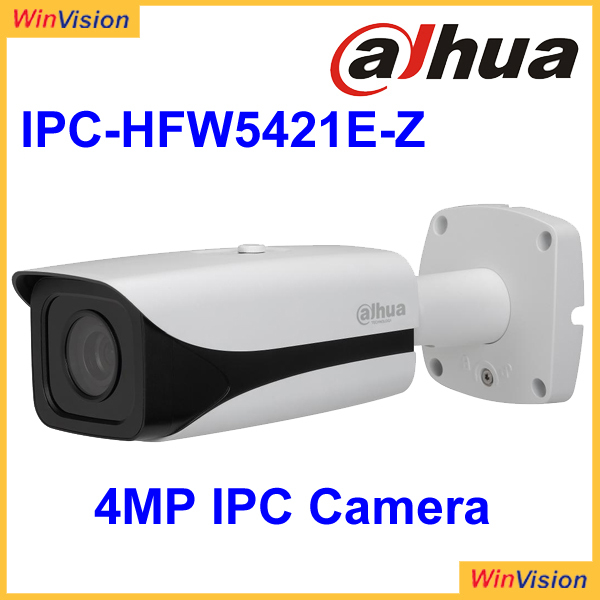 Dahua cctv camera 4MP Bullet IPC-HFW5421E-Z ip camera motorized lens and 50m IR distance cctv camera have large stock
