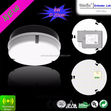 OT-HCB-40MC LED 1000LM IP65 4000K 8W led bulkhead light with motion sensor
