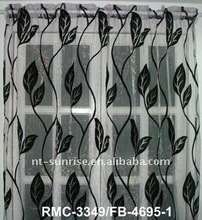 Velvet Silk Living Room cafe curtains