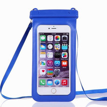 Best-Selling clear pvc waterproof mobile phone bag, Waterproof Cell Phone Bag for Iphone 6