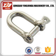 Types of bow shackle u.s drop forged d shackles