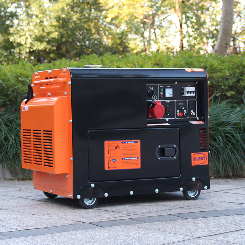 BISON China Zhejiang 6KVA OEM Approved AC Three Phase 6 kw Diesel Generator