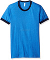 OEM Men's Poly-Cotton Tee Short Sleeve T-Shirt Round neck Tee Plain color Tops
