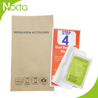 Branded microfiber cloth +dust remover +screen wipe accessories kit