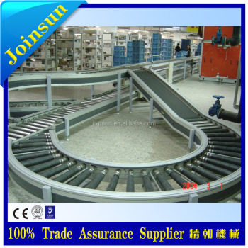 Tissue paper chain conveyor for vertical conveying