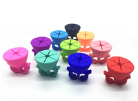 Creative Finger nail polish bottle holder/wearable silicone Nail Polish Support/holder
