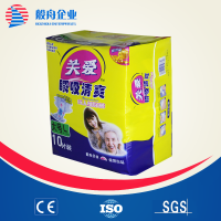 OEM PP tape PE film super abosrbent disposable paster adult diaper made in china