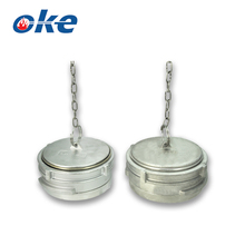 Okefire Guillemin Type End Cap & Blank End Cap With Ring