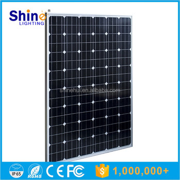 High efficiency 17.8% solar panels 250 watt with 10 years warranty