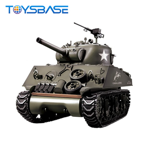 Heng long RC Tank 1/16 M4A3 SHERMAN COMPLETE SOUND / SMOKE HengLong Battle Model Tank