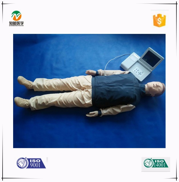 Adult CPR full body medical dummy with print function