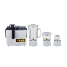 Top quality innovative design glass 4 in 1 food processor blender