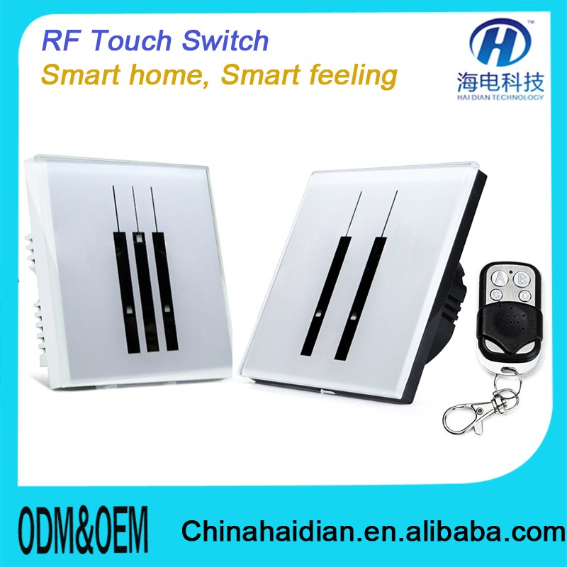 2018 Hot Selling RF WIFI Remote Control touch witch for home autamation