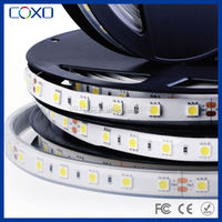 RGB addressable 5050 led strip light with remote controller