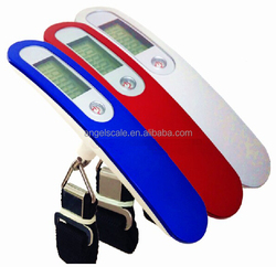 40kg travel hanging scale digital luggage scale with stainless and ABS style