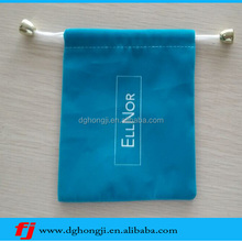 Design new suede pouch for printing logo