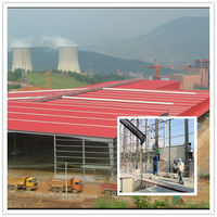 China Prefabricated Steel Building Workshops And