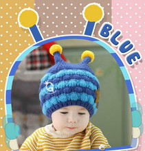Best seller baby funky knitted cap lovely animals child warm beanie hat winter crochet parrten baby hats