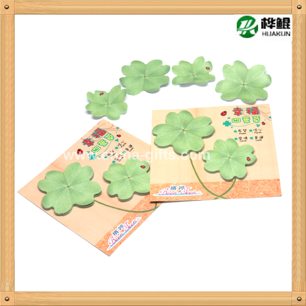 flower shape sticky notes