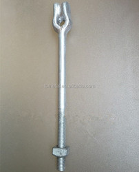 Steel Solar Earth Anchor Rod