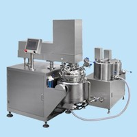 Automatic High Shear Vacuum Mixing Emulsifier Homogenizer