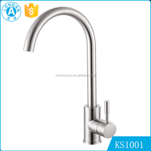 OEM modern design Deck mounted Single Handle kitchen stainless steel water tap