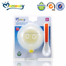 New Design BPA Free PP Baby Chinese Soup Bowl and Spoon Set