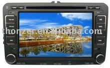 7 inch GPS DVD For VW Sagitar/MAGOTAR/Caddy/Bora/Skoda Superb/Golf5/Golf6/Caddy (TZ-VW721)