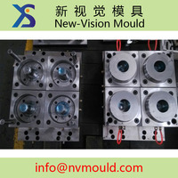 hot runnner system short cycle time 4 cavity thin wall ps cup mould