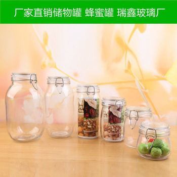 High quality Best selling product 2015 100ml , 200ml ,280ml, candy honey glass jar in stock